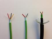 knx grondkabel, 2-aderige knx kabel, dunne knx kabel